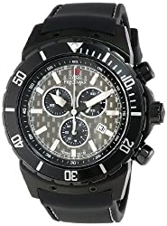 Swiss Precimax Men's SP13283 Pursuit Pro Sport Grey Dial with Black Silicone Band Watch