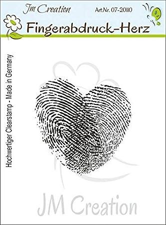 Jm Creation Fingerabdruck Herz Amazon De Burobedarf Schreibwaren