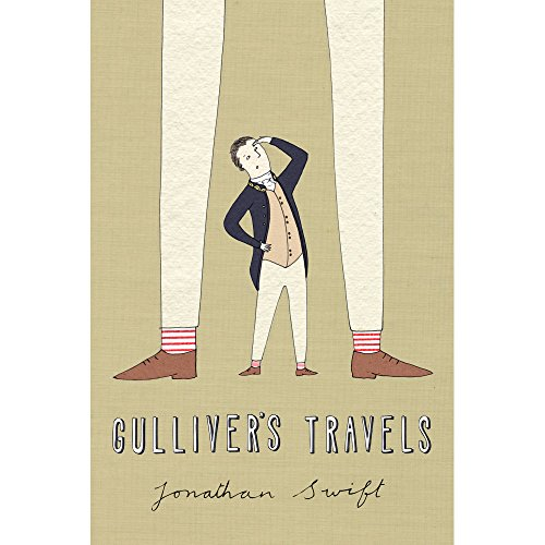 Recovering The Classics Wall Decal: Gulliver's Travels by Naomi Sloman (12 in x 18 in)