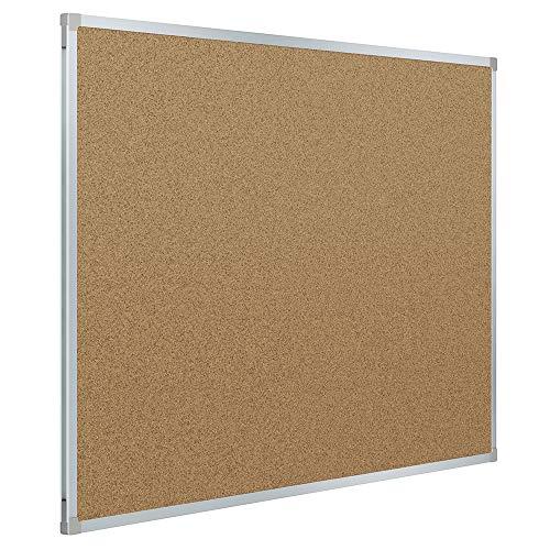 (Mead Corkboard, Framed Bulletin Board, 3' x 2', Cork Board, Aluminum Frame (85361))