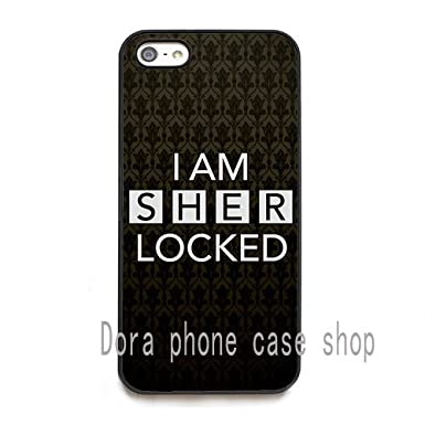 I Am Sherlocked Wallpaper Hd Phone Cases Cover For Iphone 5