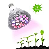 Ledgle 30w Led Grow light Bulb , Grow Plant Lamp for Indoor Hydropoics Greenhouse Plants Growing