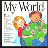 My World & Globe: With Inflatable Globe and over 100 Stickers
