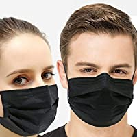 50 Pcs Disposable Face Mask 4 Layer Earloop Face Mask Anti Dust, Germ, Flu Individual Package Mask for Medical Surgical Hypoallergenic