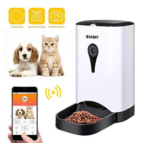 Gasky Automatic Cat Pet Smart Feeder 45l Large Capacity App