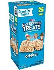 Kellogg's Kellogg'S Rice Krispies Treats, Crispy Marshmallow Squares, Original, Single Serve, Display Box, 1.3 Oz Bars (25Count)