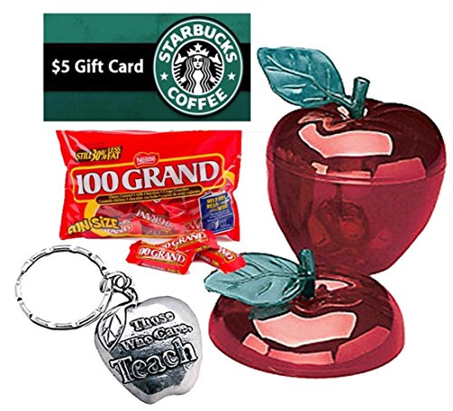 Back To School, Teacher Appreciation, End Of School Year 8pc Red Apple Gift Set!