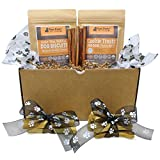 Raw Paws Pet Dog Birthday Treats Puppies – Dog Gift Box Puppy – Dog Chews Treats Variety Pack – Birthday Gifts Dogs – Dog Gift Basket – Rawhide Chews, Bully Sticks, Biscuits & Cookies Review