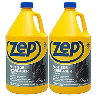 Zep Fast 505 Cleaner & Degreaser 1 Gallon ZU505128 (Case of 2) Industrial Strength