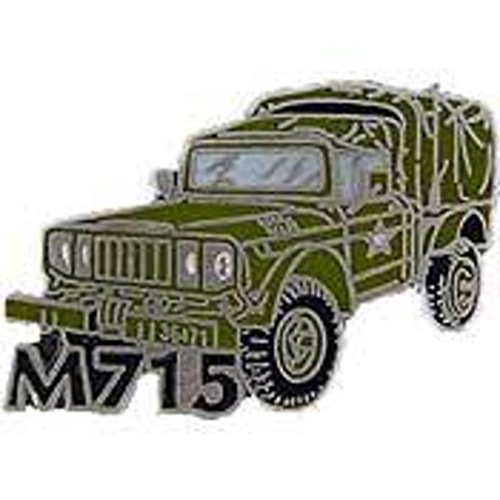EagleEmblems P02042 Pin-Jeep,M715 (1'') for sale  Delivered anywhere in USA