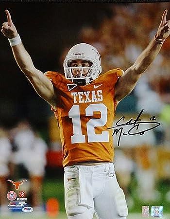ad01ce06ea1 Colt McCoy Signed 16 x 20 Photo Texas Longhorns - PSA/DNA ...