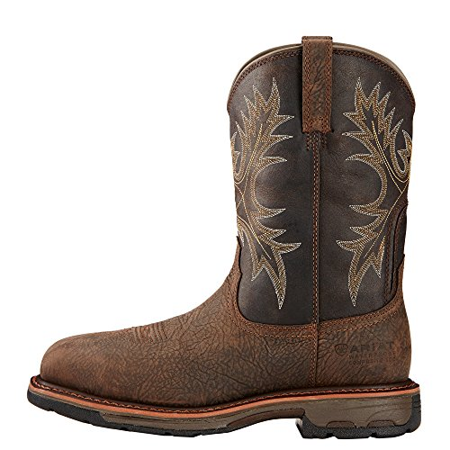 Pictures of Ariat Men's Workhog Wide Square Composite BRUIN BROWN/COFFEE 3