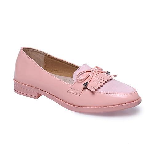 La Modeuse - Mocasines para mujer, rosa (Rose), 40: Amazon.es: Zapatos y complementos