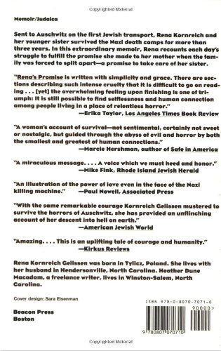 Rena's Promise:  A Story of Sisters in Auschwitz