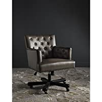 Safavieh Mercer Collection Chambers Clay & Black Office Chair, Standard