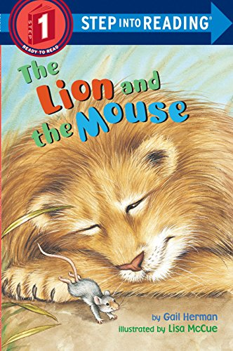 The Lion and the Mouse (Step-Into-Reading, Step 1) (Lion And Mouse Story In English Writing)