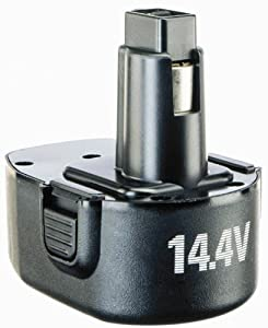BLACK+DECKER PS140 Fire Storm 14-2/5-Volt 1-2/5-Amp NiCad Pod Style Batte