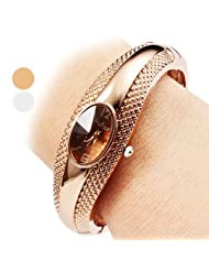 LightInTheBox Women's Watch Casual Style Alloy Bracelet Watch Designer Watch Christmas Gift Present, Color=Bronze