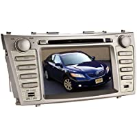 8 Inch For Toyota Camry 2007 2008 2009 2010 2011 In Dash HD Touch Screen Car DVD Player FM/AM iPOD Radio Stereo Navigation +Free GPS North America Map Card