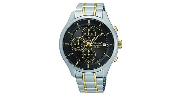 Amazon.com: Reloj Seiko Caballero SKS543P1 Color Acero con ...