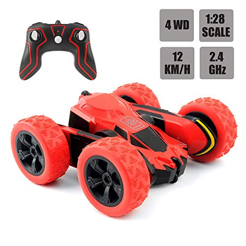 RC Car Remote Control Car, 1:28 Scale Electric Vehicles Monster Truck, 4WD Remote Control Stunt Car Off Road Vehicle, Racing Vehicle 2.4GHz Crawlers Off Road Vehicle Toy Car for Kids and Adults.