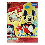 mickey clubhouse bowling set - Mickey Mouse Clubhouse Inflatable Bowling Set with 6 Actual Size Pins and Sport Ball Indoor Outdoor Play