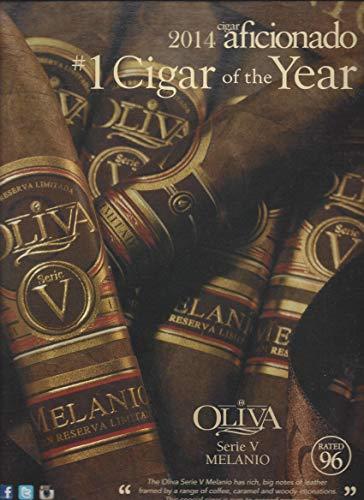 - MAGAZINE ADVERTISEMENT For Oliva Cigars Series V Melanio 96 Rating Scene