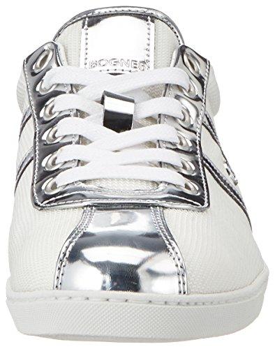 Weiß White 1a Mujer Lady Silver Zapatillas Bogner Newcastle xFqX8XTO