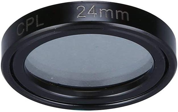 24mm Circular Polarizing CPL Filter Lens Protector for 0806 0906 Car Dash Camera