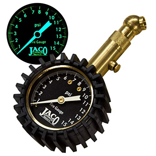 JACO Elite Tire Pressure Gauge - 15 PSI ()