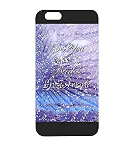 Disney Iphone 6s Funda Case - Frozen Quotes Snap On Anti Scratch Plastic for Iphone 6 / 6s (4.7 inch)