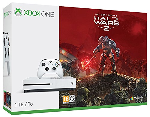 Console Xbox One S 1TB Bundle Halo Wars 2