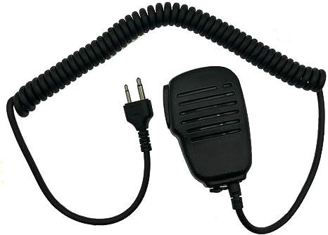 Listen Only Earpiece for ICOM 2-Way Radio IC Rainproof Shoulder Speaker Mic