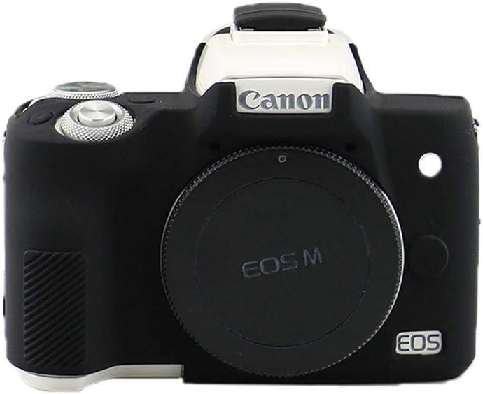 JILOM - Carcasa de Silicona para cámara Canon EOS M50 (Poliuretano ...