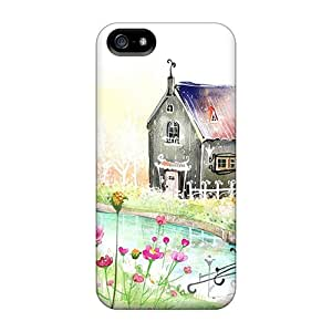 New Cottage Cases Compatible With Iphone 5/5s
