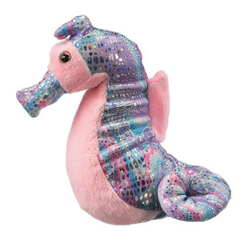 Sea Horse Stuffed Animal Plush Toy 9 Inches by Wildlife Artists