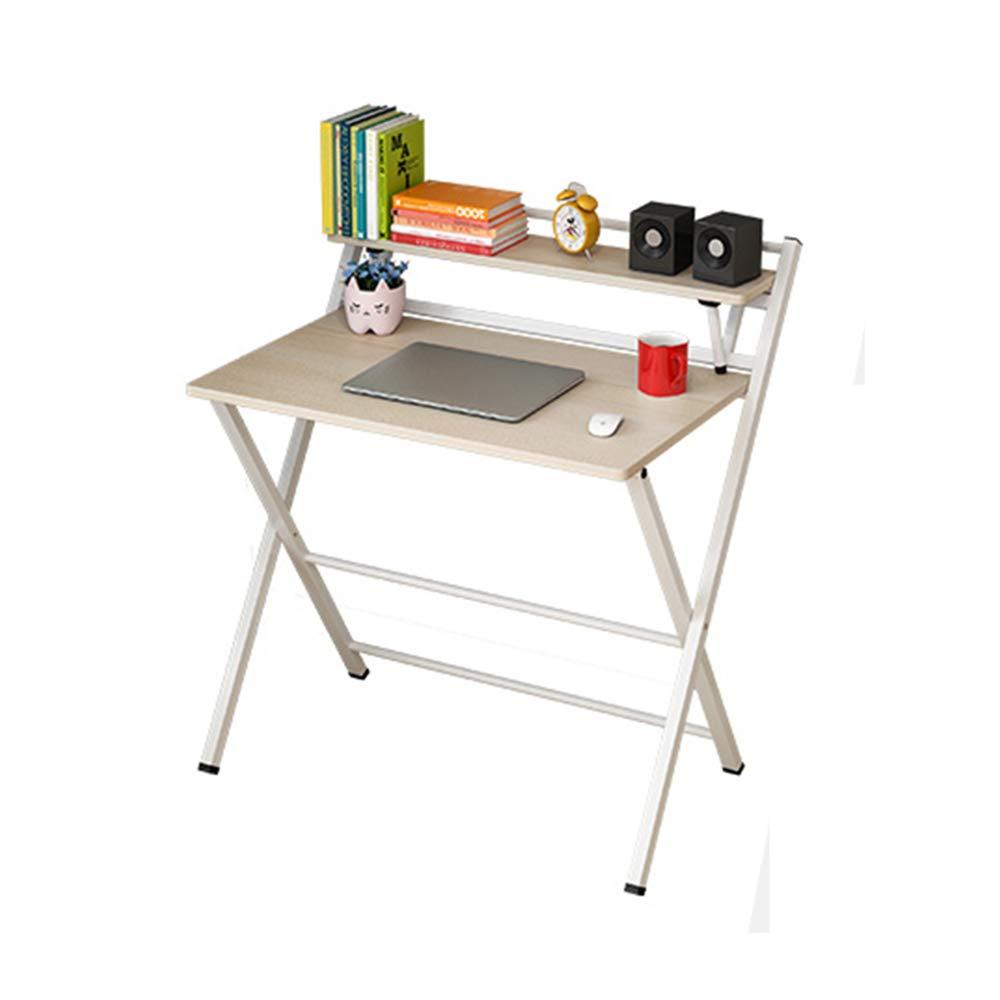 Tabelle LHA Scrittoio pieghevole per scrivania Scrittoio per computer Scrittoio per ufficio (Colore : A)