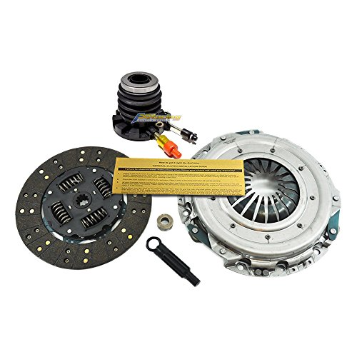 EFT HEAVY-DUTY CLUTCH KIT+SLAVE CYL FOR 97-08 FORD F-150 F-250 PICKUP TRUCK 4.2L 4.6L
