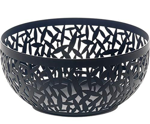 Alessi MSA04/21 B''CACTUS!'' Fruit Holder in Steel Coloured With Epoxy Resin, Black by Alessi (Image #1)