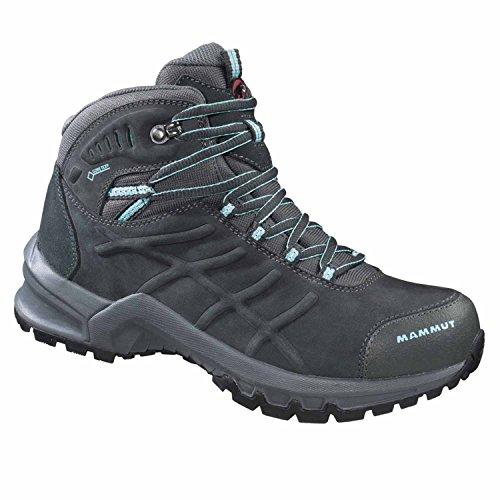 Mammut Mercury GTX® 3020-02690 - Botas de nieve de cuero para hombre, color gris, talla 45,5 coffee/cirrus