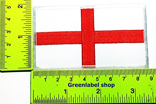 England Costume For United Nation (Each country's flag England flag Patch Logo Sew Iron on Embroidered Appliques Badge Sign Costume Send Free Registration)
