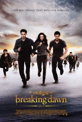 Image result for breaking dawn part 2 movie poster