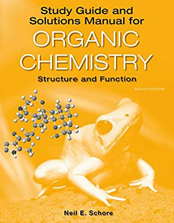 Solutions Manual to Accompany Clayden Organic Chemistry