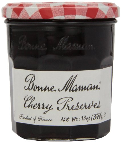 Bonne Maman Cherry Preserves, 13 oz - Gourmet Jams Cherry