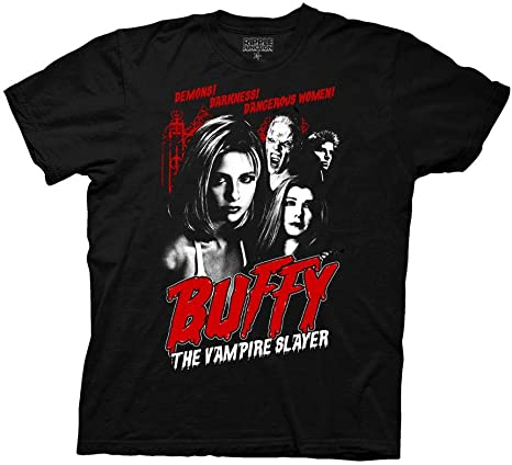 men/'s or ladies unisex buffy the vampire slayer official t shirts