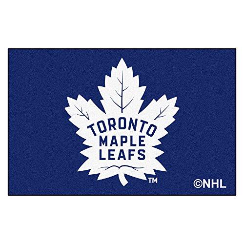 (FANMATS NHL Toronto Maple Leafs Nylon Face Starter Rug)