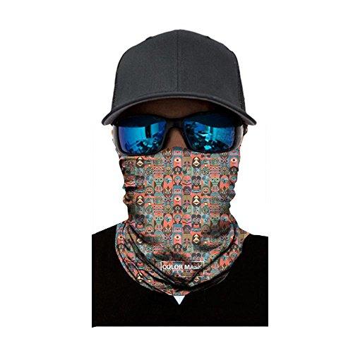 Koolsants Neck Gaiter, Sun Wind Dust Proof Face Mask Bandana, Sweat Wicking Wide Yoga Headband, Headwear, Balaclava for Motorcycling, Fishing, Running, Hiking, Cycling