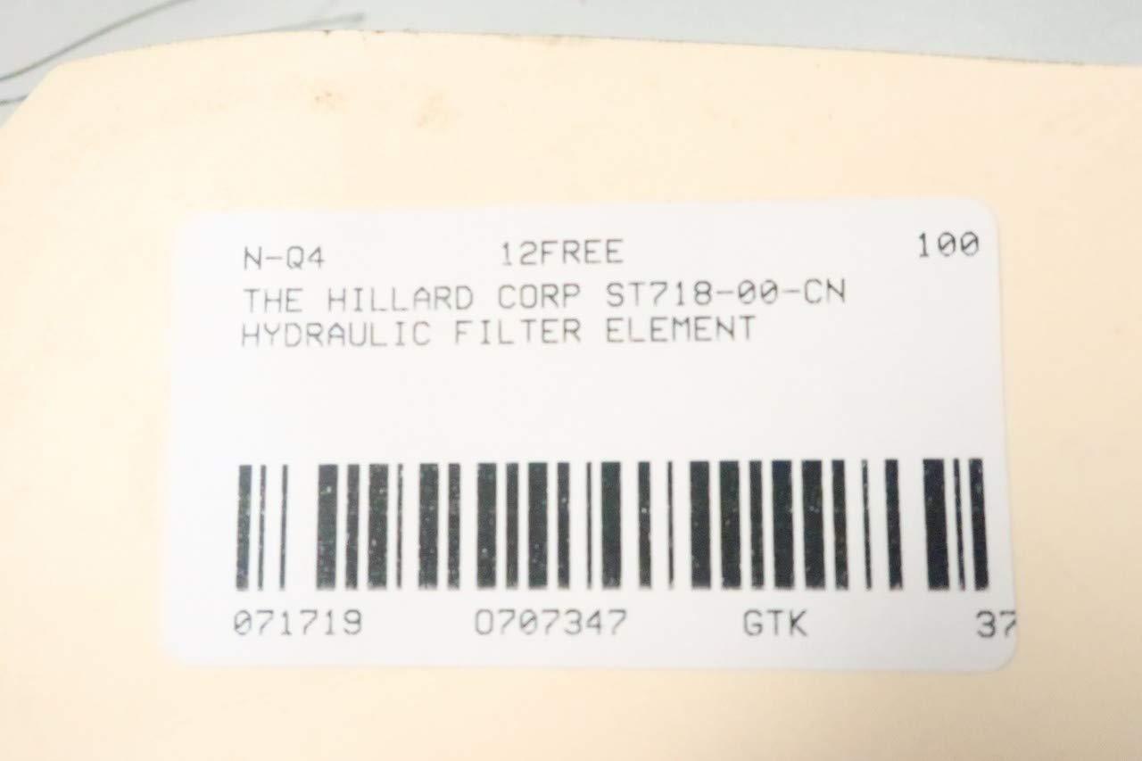 Hillard ST718-00-CN Hydraulic Filter Element