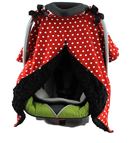 car seat canopy red color - 3