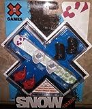 X Games Fingerboard Snowboard 32 Leopard Snowboard / Exus Boots